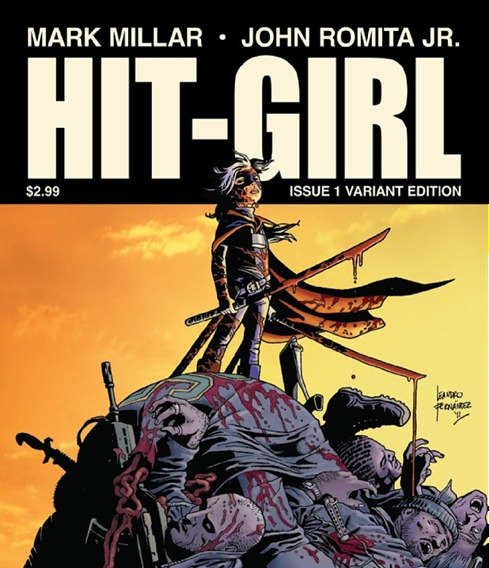 hit girl comic - unpocogeek.com