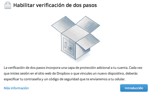 dropbox two steps verification - unpocogeek.com