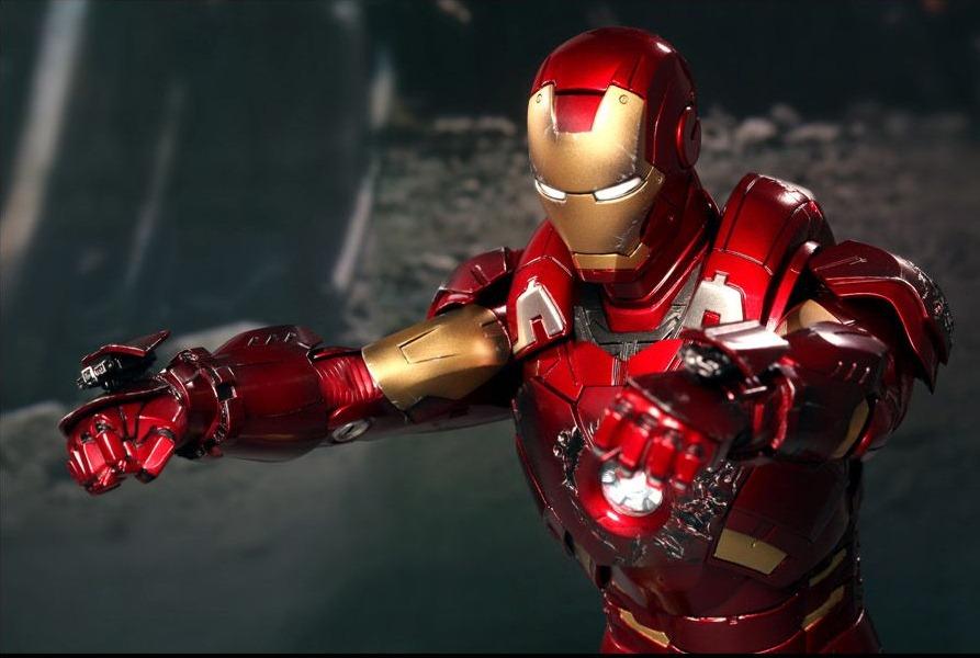 Muñeco de Iron Man, súper detallado