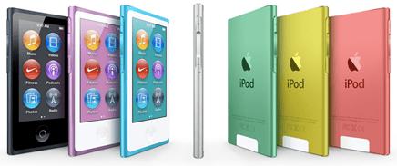 Apple - iPod nano with Multi-Touch - unpocogeek.com