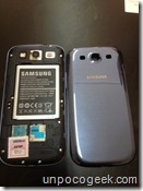 Samsung galaxy s3 unboxing -8- unpocogeek.com