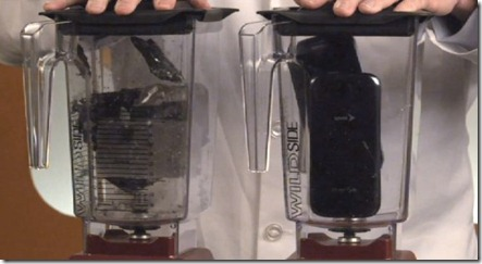 iPhone 5 Vs. Galaxy S3 Blend it test - unpocogeek.com
