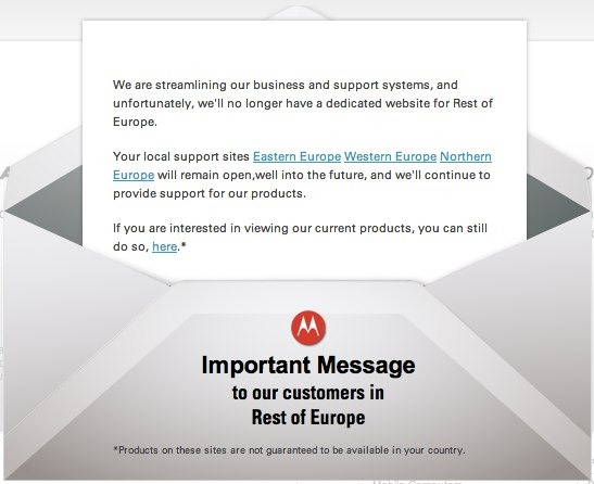 Motorola Mobility - Motorola Solutions - Rest of Europe - unpocogeek.com