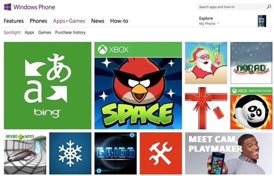 Windows Phone Apps Games Store - unpocogeek.com