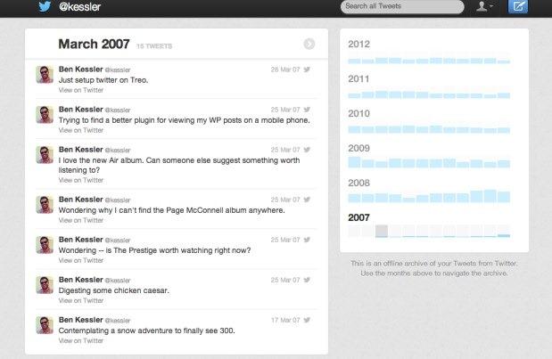 twitter new archive download -2- unpocogeek.com