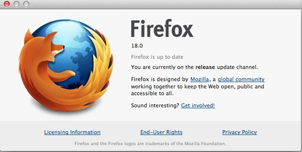 Firefox 18 ready to download - hqgeek.com