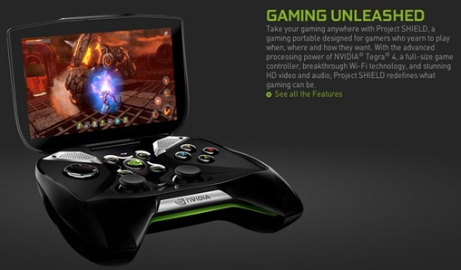 Portable Handheld PC Gaming  NVIDIA Project Shield - unpocogeek.com