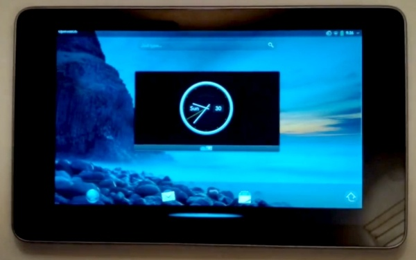 Open webOS funcionando en un Nexus 7