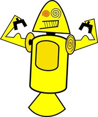 yellow-droid - hqgeek.com