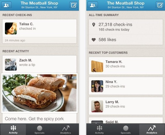 Foursquare for Business - unpocogeek.com