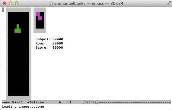 Juegos incluidos en la terminal de OS X