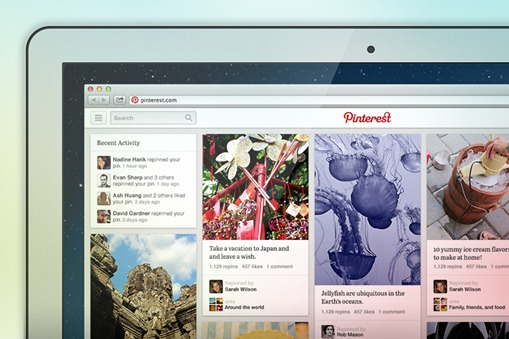 pinterest new redesign - unpocogeek.com