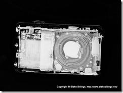 cameras under X rays - lumix - unpocogeek.com