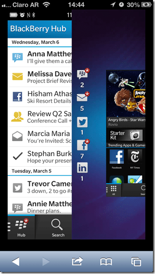 blackberry 10 demo in mobile browsers - unpocogeek.com