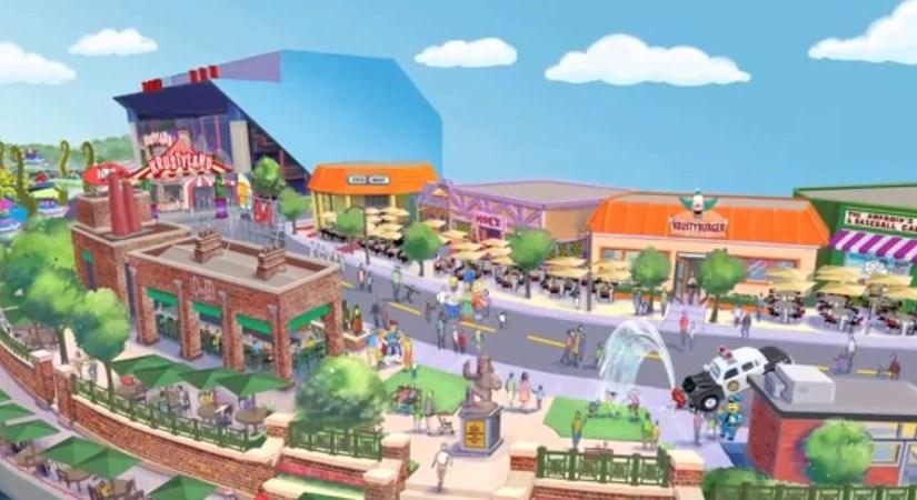 Estudios Universal abrirá un parque temático de los Simpsons