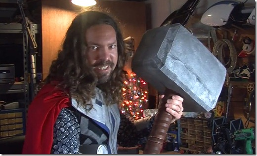 thor hammer home made - unpocogeek.com