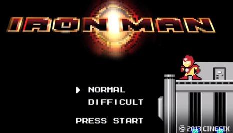 iron man in 60 seconds in 8 bits - unpocogeek.com