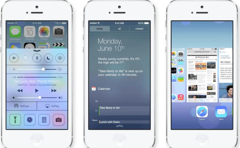 [VIDEO] Apple presentó en sociedad, iOS7