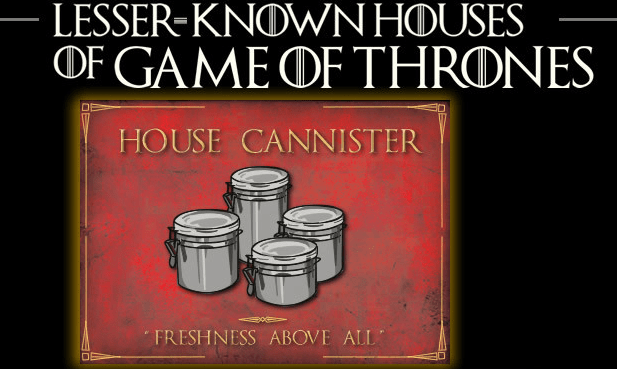 the lesser known houses of game of thrones - unpocogeek.com
