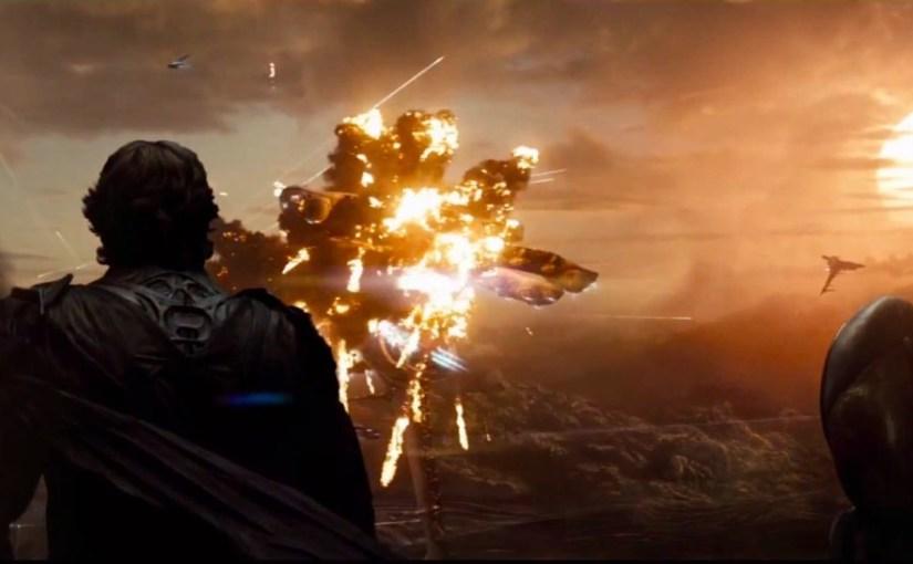 Detrás de los efectos especiales de Man of Steel