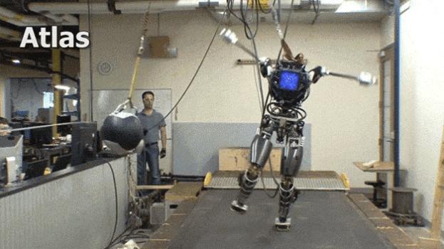 ATLAS, robot humanoide súper resistente