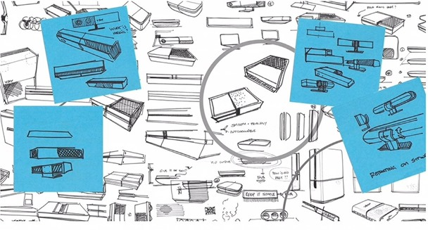 sketches of xbox one designs - unpocogeek.com