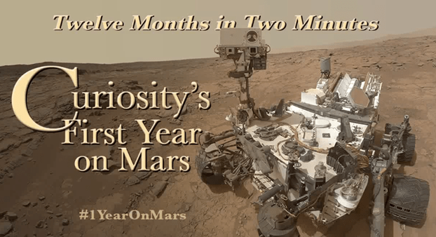 one year of curiosity on mars - unpocogeek.com