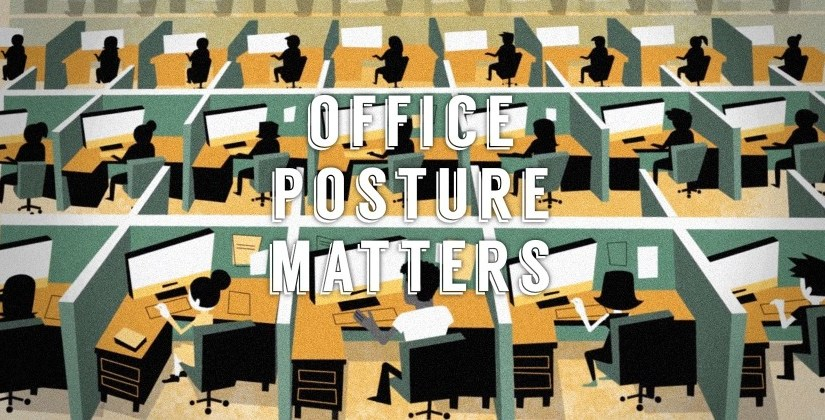 De buenas posturas en la oficina