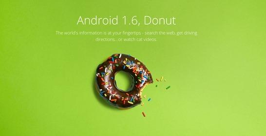 android-1.6-donut - unpocogeek.com