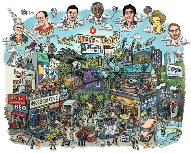 2013 resumen en una imagen - unpocogeek.com