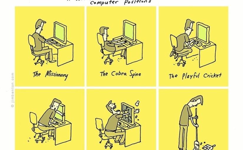 El Data Sutra, posiciones mientras estamos con nuestra PC