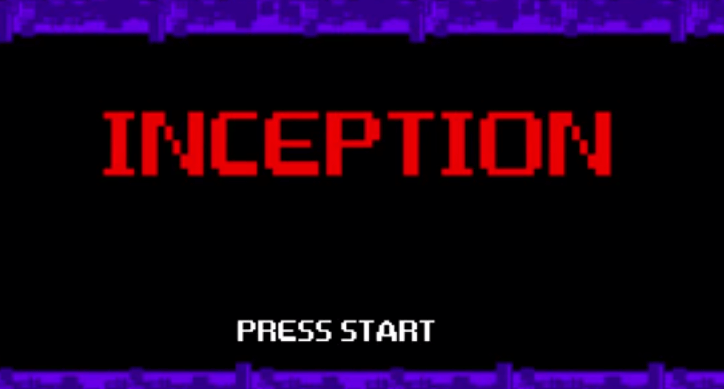 Inception en 8bits en 2 minutos