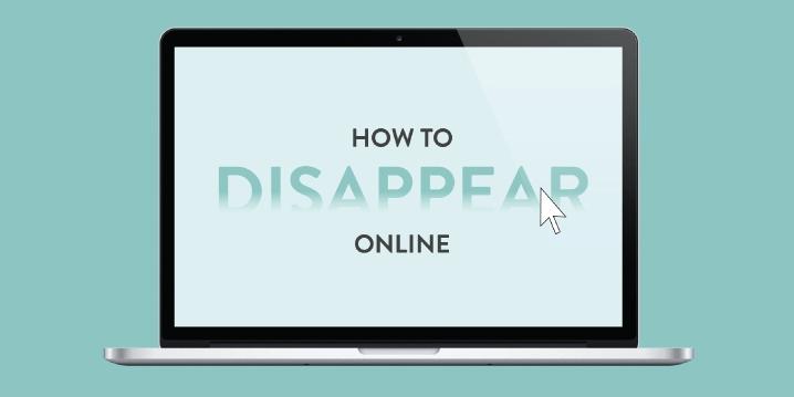 [Infografía] Cómo desaparecer de internet