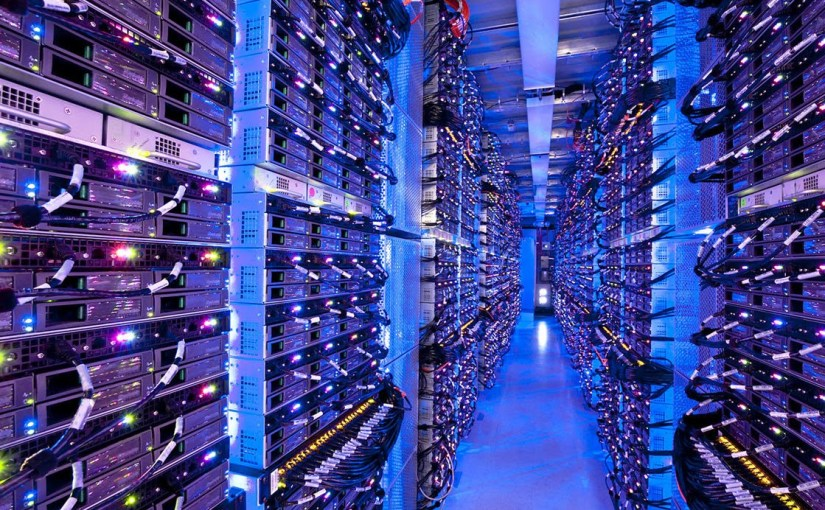 Dentro de los data center más grandes
