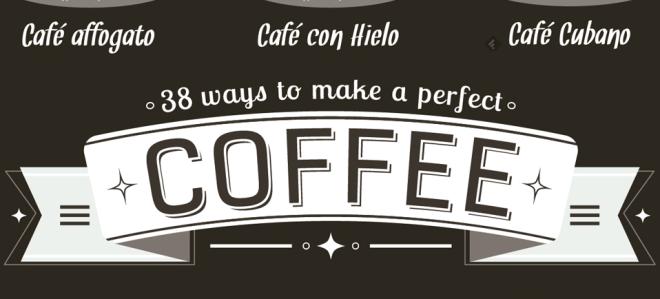 38 maneras de prepara cafe -f- unpocogeek.com