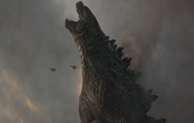 Godzilla 2014    All Godzilla Scenes HD - unpocogeek.com