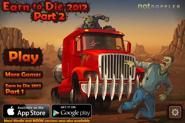 El juego de hoy… Earn to Die
