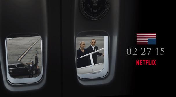 Fecha de estreno de la tercera temporada de House of Cards