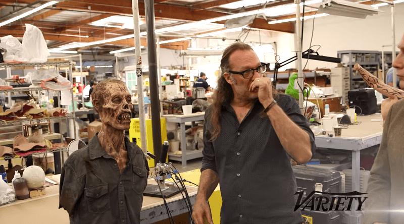 Creando a los zombies de The Walking Dead