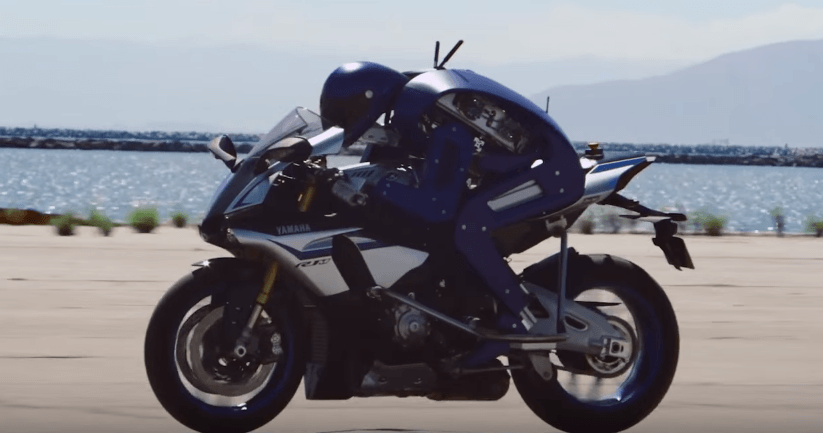 MotoBot, el robot motociclista de Yamaha