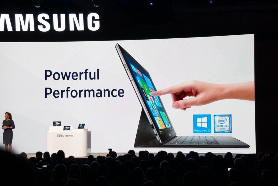 Galaxy TabPro S, nueva tablet de Samsung con Windows 10