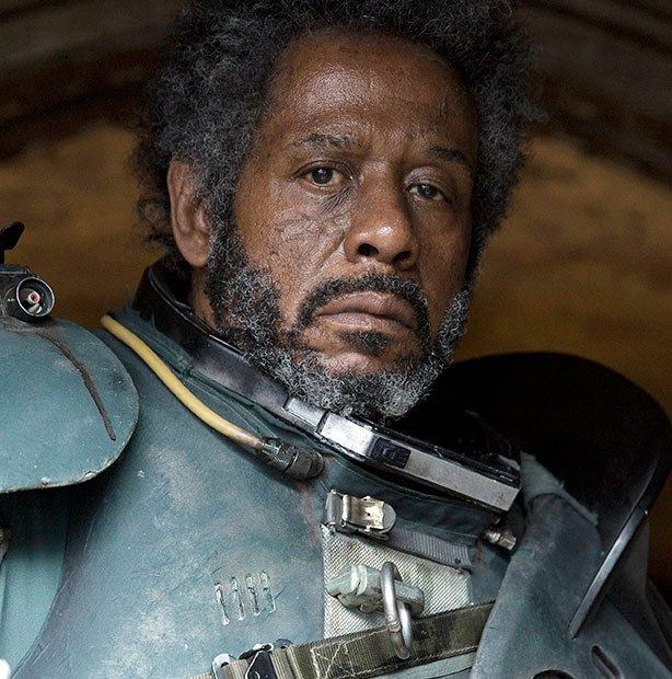 Forest Whitaker como el rebelde insurgente Saw Gerrera