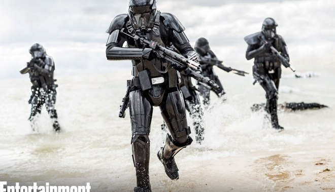 Deathtroopers en la playa
