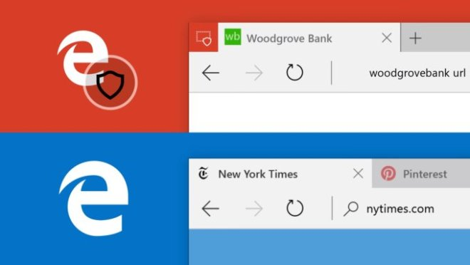 Microsoft Edge en un entorno virtual seguridad