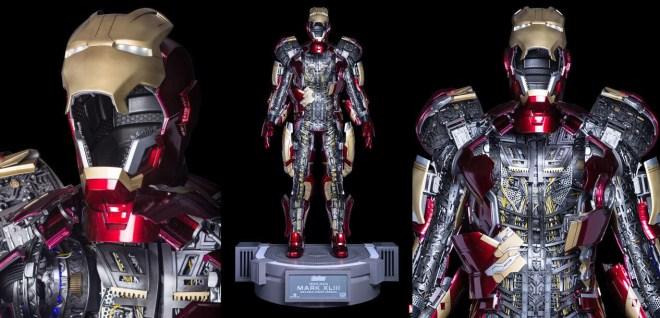 Armadura de Iron Man tamaño real para coleccionar