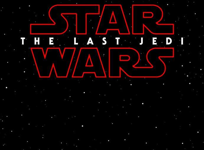 Star Wars The Last Jedi 2017 titulo