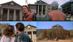 Volver al Futuro, comparativa de una de sus escenas entre la trilogía