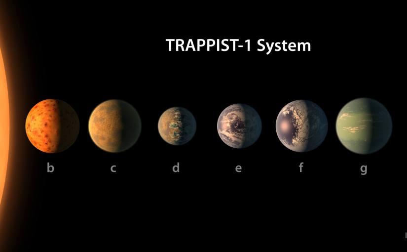 NASA anuncia el descubrimiento de un nuevo sistema solar con 7 planetas similares a la tierra