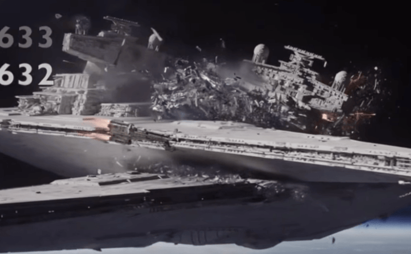Contador de muertes imperiales en Rogue One: A Star Wars Story