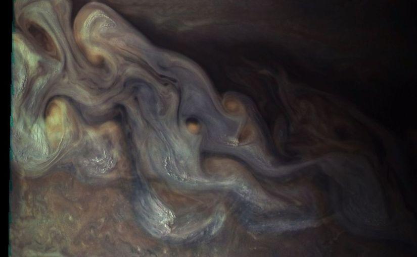 Un nuevo vistazo a las tormentas que envuelven a Júpiter